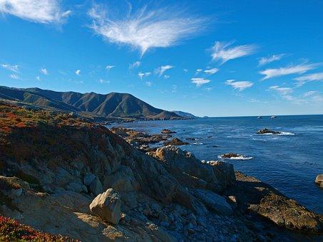 Water, Seashore, Sea, Panoramic, Nature, Travel