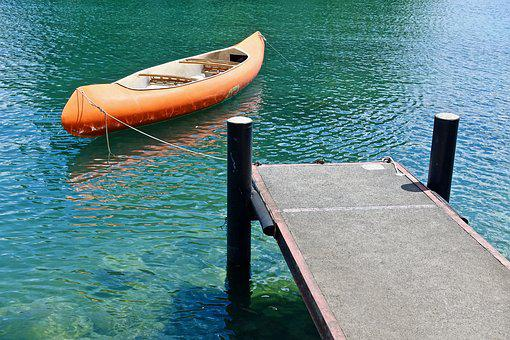 Canoe, Pier, Water, Travel, Sea, Boat, Summer, Vacation