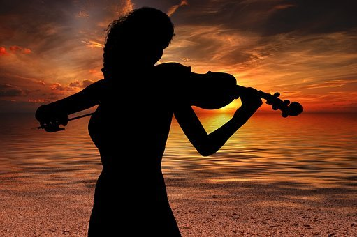 Violinist Violinist, Music, Sound, Violin, Atmosphere