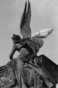 Angel, Mystery, Tomb, Cemetery, Art, Sculpture, Statue
