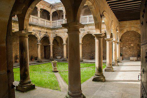 Architecture, Travel, Building, Arcade, Cloister