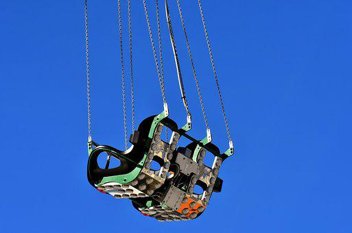 Chain Carousel, Ride, Folk Festival, Fairground