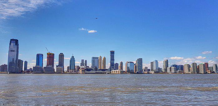 Panoramic, Skyline, City, Architecture, Cityscape