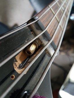 Equipment, Instrument, Sound, Bass, Guitar, Musician