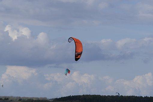 Sky, Air, Flight, Freedom, Kiting, Kite, Kite Surfing