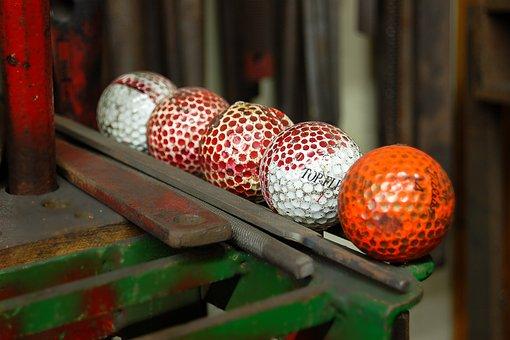 Golf Balls, Tools, Round, Orange, Golf, Ball, Balls
