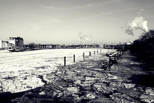 Elbe, Bille, Billwerder Bay, Hamburg