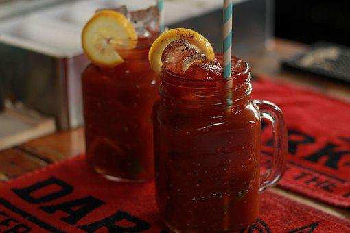 Glass, Fruit, Food, Jar, Drink, Refreshment, Tomato