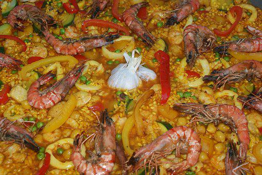 Food, Vegetables, Meal, Kitchen, Gourmet, Paella, Cook
