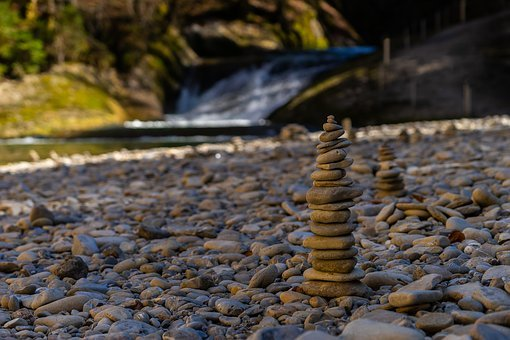 Waters, Nature, Stone, Rock, Travel, Cairn, Landscape
