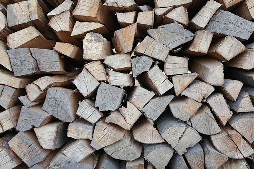 Lena, Log In, Stack Of Firewood, Textile, Pattern, Cut