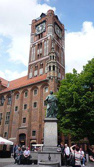 Architecture, Toruń, The Town Hall, Monument, Gothic