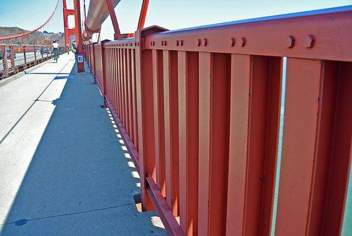 Architecture, Outdoors, Bridge, Steel, Sky