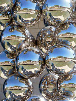 Background, Sculpture, Abstract, Bubbles, Pattern