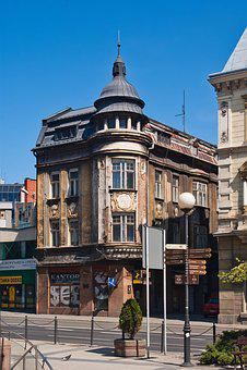 Bielsko, Bielsko-biała, Poland, Architecture, City, Old