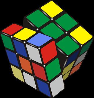 Rubik's Cube, Cube, Rubik, Puzzle, Toy, Drawing