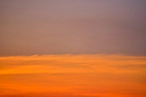 Sunset, Nature, Outdoors, Sky, Red, Color, Dusk