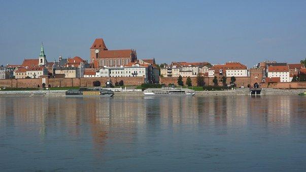 Toruń, Wisla, The Waterfront