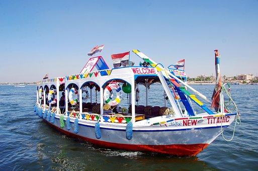 Egypt, Nile, Boat, Tourism, Cruise, Navigation