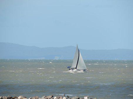 Water, Sail, Sea, Sailboat, Ocean, Summer, Sky, Travel