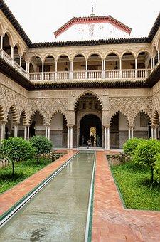 Architecture, Travel, Building, Culture, Seville, Spain