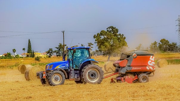 Tractor, Soil, Machine, Agriculture, Farm, Vehicle
