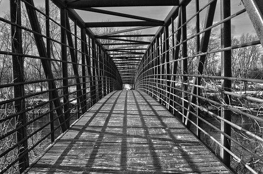 Architecture, Bridge, Walkway, Walk, Path, Pathway