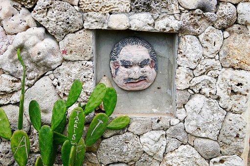 Indonesia, Bali, Stone, Rock, Wall, Desktop, Nature