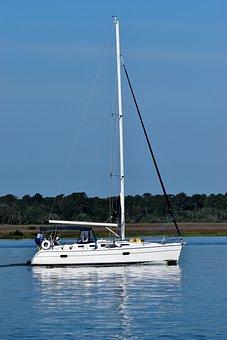 Water, Sailboat, Yacht, Boat, Sail, Leisure, Sea