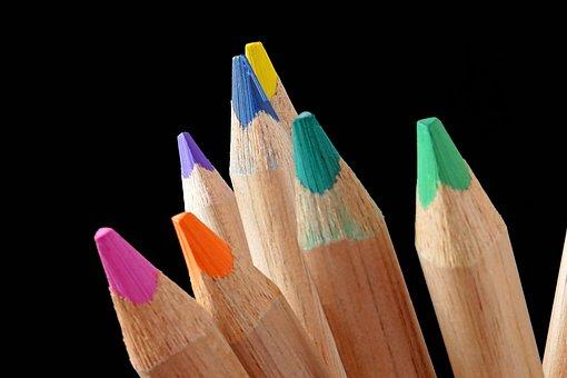 Pencil, Cross, Wood, Education, Creativity, School