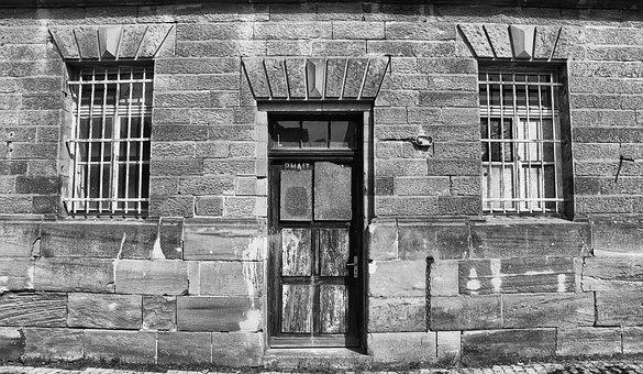 Old, Architecture, Home, Window, Black And White