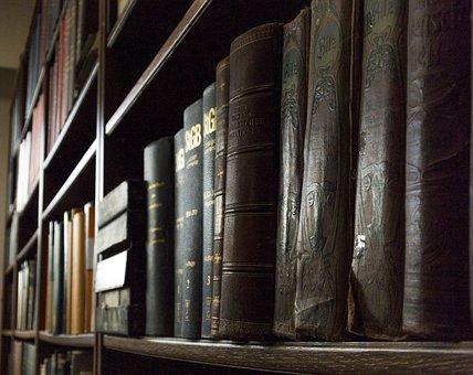 Library, Shelf, University, Warehouse, Bookshelf
