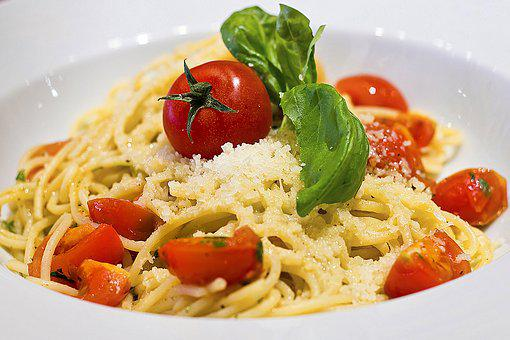 Food, Plate, Spaghetti, Pasta, Dish, Dinner