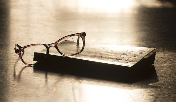 Eyeglasses, Book, Education, Reading, Glasses
