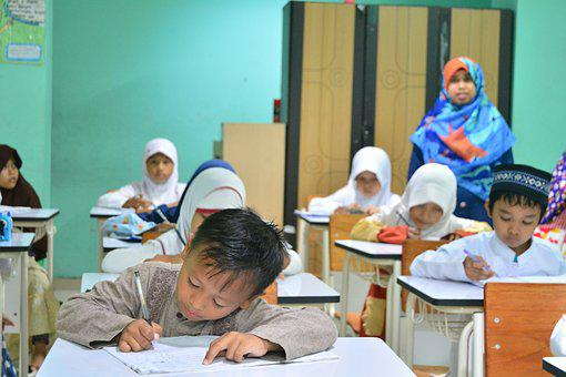 Kids, Smile, Excited, Indonesian, Kindergarten