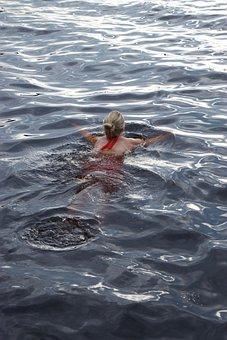 Water, Wet, Swimming, Lake, Splash, Finland
