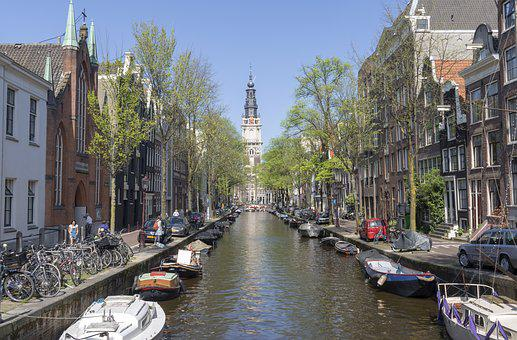 Amsterdam, Canal, Channel, Netherlands, Holland