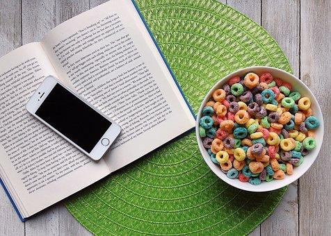 Cereal, Book, Iphone, Breakfast, Fruit Loops, Rainbow