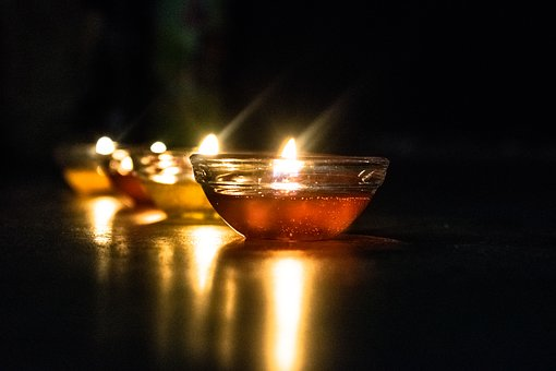 Dark, Flame, Reflection, Light, Candle, Celebration