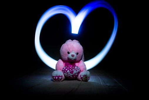 Love, Illuminated, Spotlight, Technology, Lamp, Light