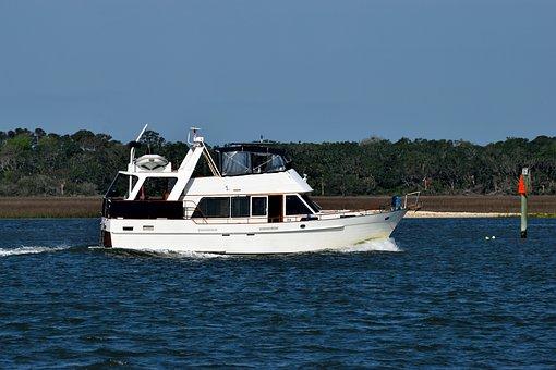 Water, Sea, Boat, Travel, Watercraft, Luxury Yacht