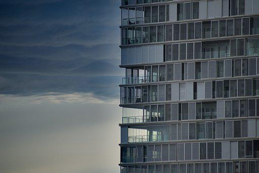 Architecture, Sky, Glass, Modern, City, Building