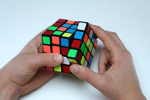 Magic Cube, Challenge, Patience, Puzzle, Difficult