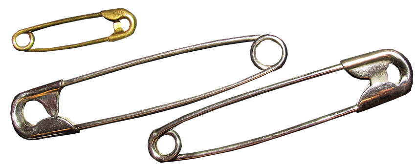 Safety Pins, Household Item, Sewing, Fasten, Repair