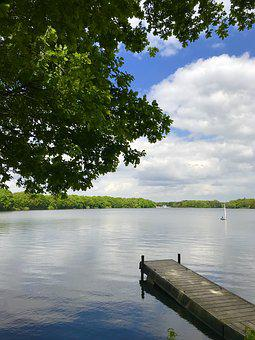 Water, Lake, Tree, Nature, Reflection, River, Wood