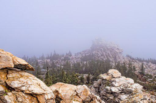 Nature, Sky, Mountain, Stone, Travel, Landscape