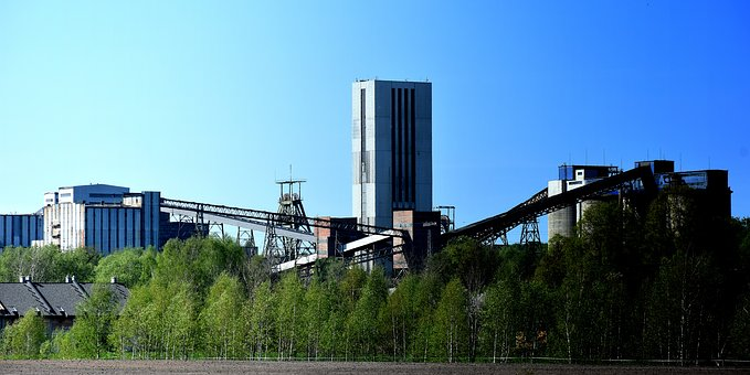 The Industry, Panoramic, Sky, Architecture, Mine