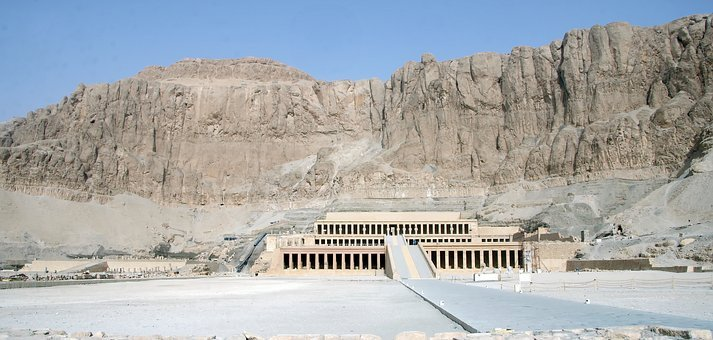 Egypt, Thebes, Valley Of The Queens, Hatshepsut, Temple