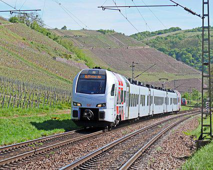 Regional-express, Süvex, Deutsche Bahn, Vineyards