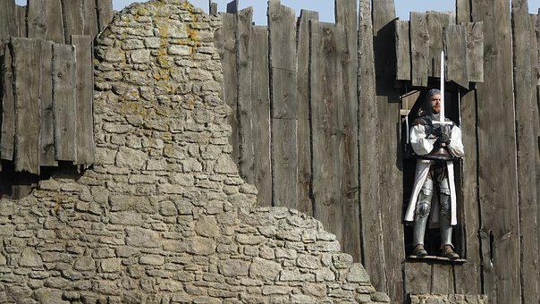 Soldier, Wall, Architecture